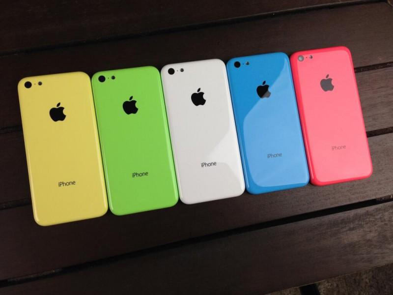 Чехлы для iPhone 5c — ярко и стильно