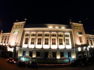 Здание театра Ленком