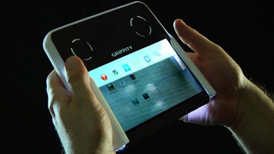 Grippity — первый прозрачный планшет мира