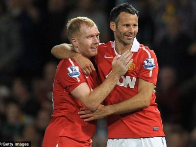 Легенды «Манчестер Юнайтед» — Пол Скоулз и Райан Гиггз