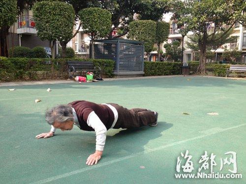Самая спортивная бабушка мира