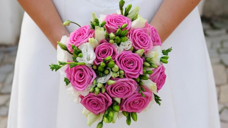 Модный букет невесты 2014