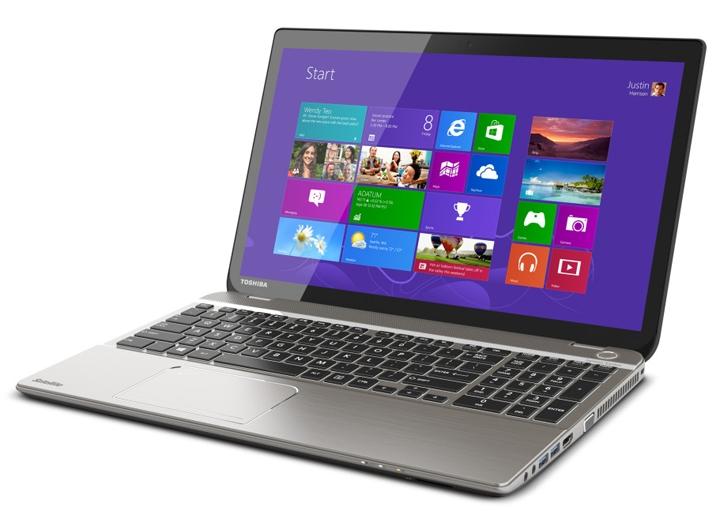 Toshiba: первый ноутбук в мире с дисплеем 4К