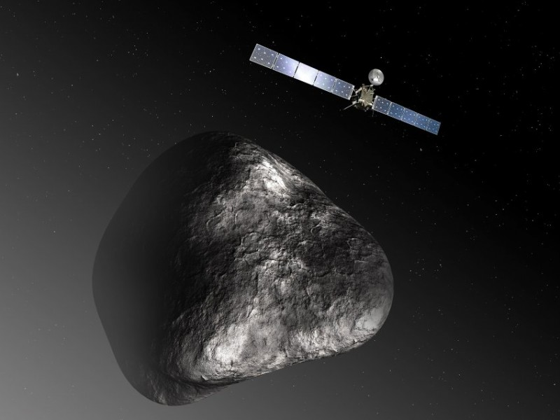 Rosetta пробудилась ото сна