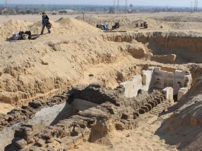 Обнаруженное захоронение Синебкая