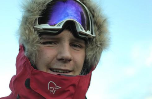 Самый юный покоритель Южного полюса на лыжах