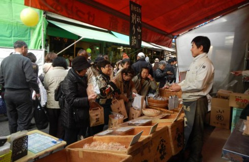 Зима — лучшее время для посещения рыбного рынка Цукидзи