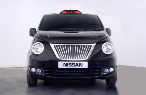 Новые Nissan-такси в Лондоне