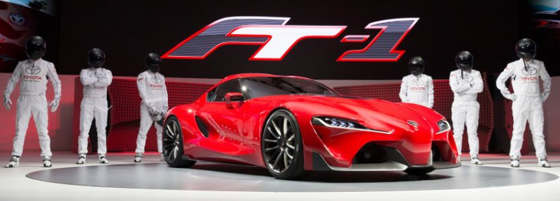 Toyota FT-1: BMW из Японии