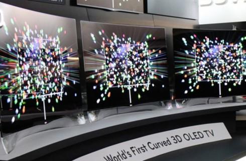 CES-2014: LG и Samsung показали гибкие телевизоры