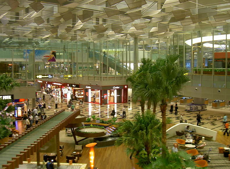 Аэропорты, в которых хочется жить