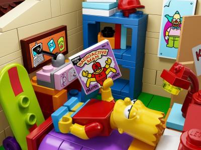 Симпсоны в  Lego