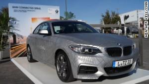 Удивительные автомобили на CES-2014