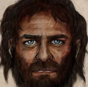 Портрет древнего человека