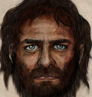 Ученые нарисовали портрет древнего человека