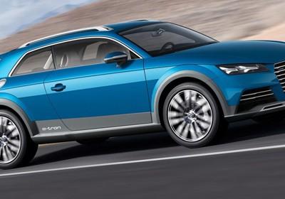 Компактный кроссовер компании Audi