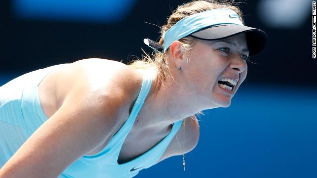 Открытый чемпионат Австралии: Мария Шарапова выходит из строя