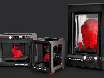 CES 2014: компания MakerBot представила три новых 3D-принтера