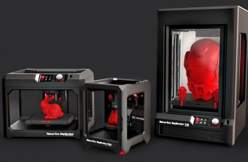CES-2014: компания MakerBot представила три новых 3D-принтера