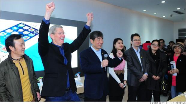 China Mobile начала продавать iPhone