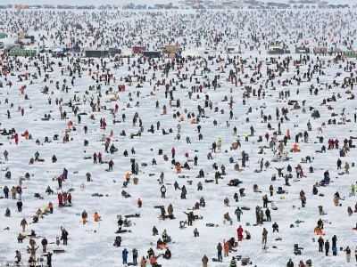 Подледная рыбалка Brainerd Jaycees Ice Fishing Extravaganza