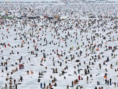 Подледная рыбалка Brainerd Jaycees Ice Fishing Extravaganza