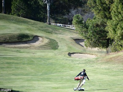 GolfBoard – новое веяние в гольфе