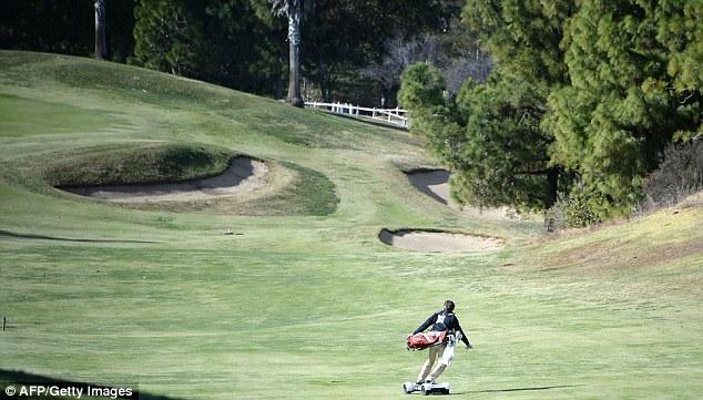 GolfBoard — новое веяние в гольфе