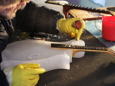 Создание ледяного инструмента