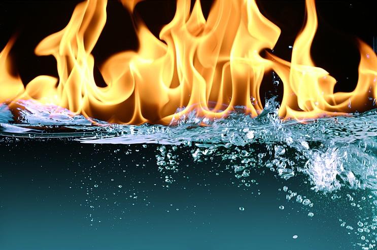 Как вода становится причиной пожаров