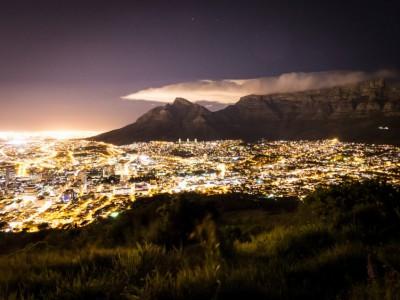 Наблюдение за звездами: Кейптаун