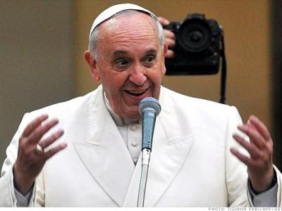 Папа Римский отправил сообщение в Давос