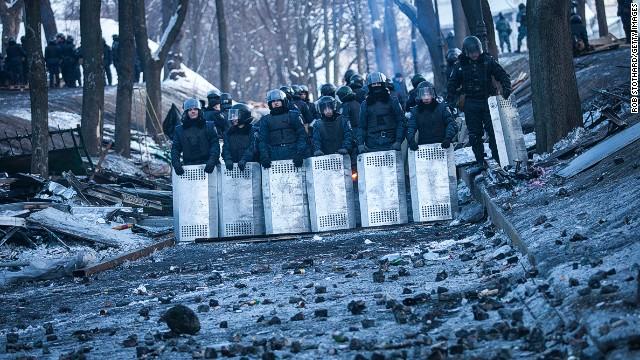 Правительство Украины уходит в отставку