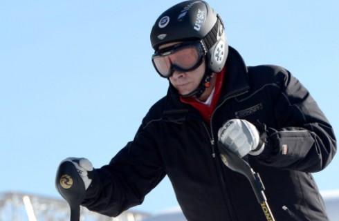 Владимир Путин проверил склоны Сочи