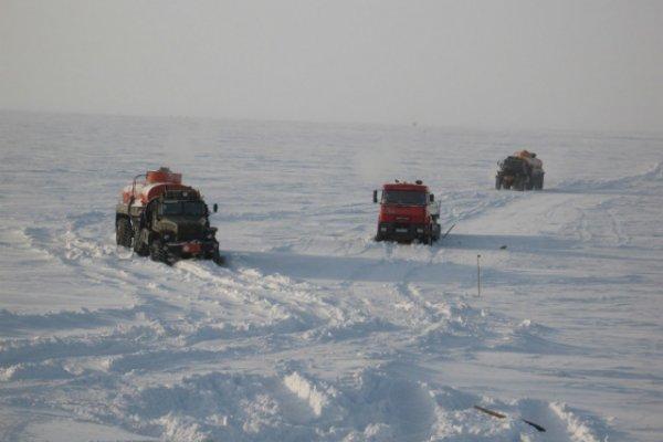 Зимние грузоперевозки