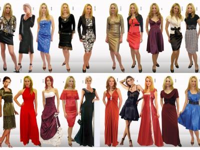 Женская одежда лучше всего продавалась перед Новым годом