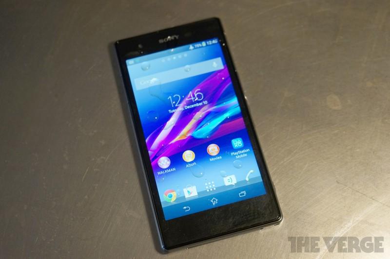 CES-2014: Sony презентует американцам свой флагманский  смартфон Xperia Z1S