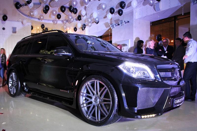 Новый обвес для Mercedes-Benz GL