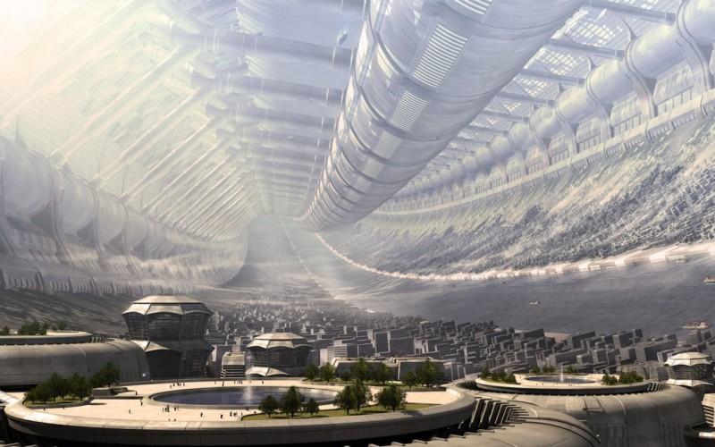 Беглый взгляд на город будущего