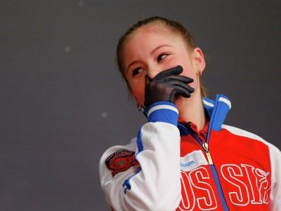 Финал командных соревнований .Юлия Липницкая