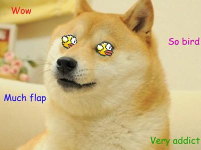 """Зависимость от """"Flappy Bird"""""""