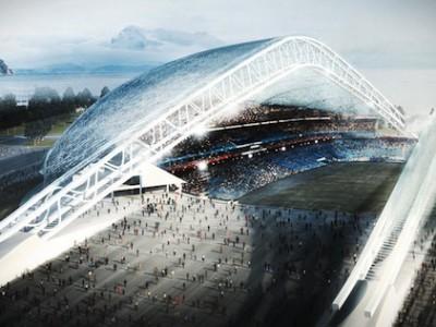 Олимпиада в Сочи. Олимпийский стадион «Фишт»
