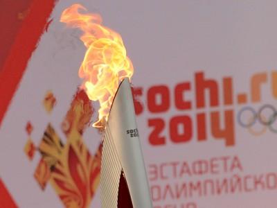 Олимпийский огонь, Сочи-2014