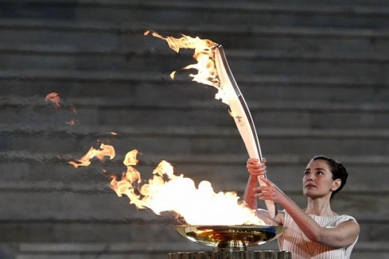 Из истории Олимпийского факела
