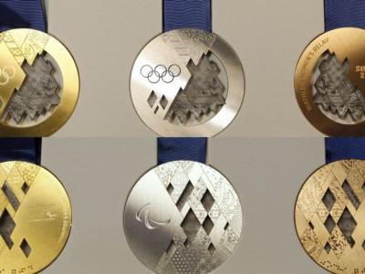 Медали Сочи