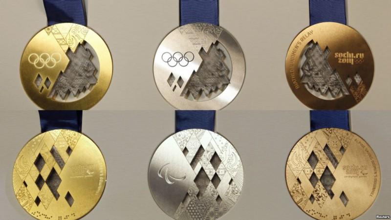 Исторические медали Сочи