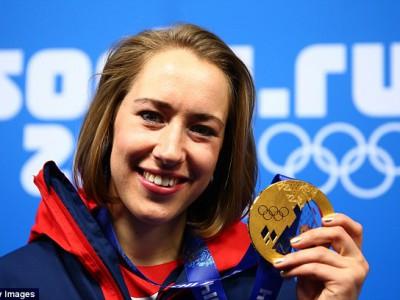 Лизи Ярнолд завоевала золото в скелетоне