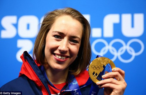 Золотая девочка Великобритании Лизи Ярнолд дала клятву…