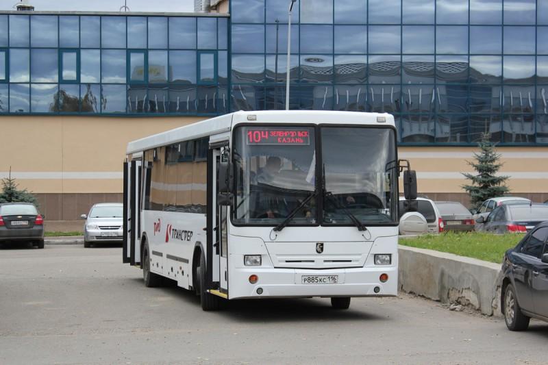 Необычные автобусы Казани
