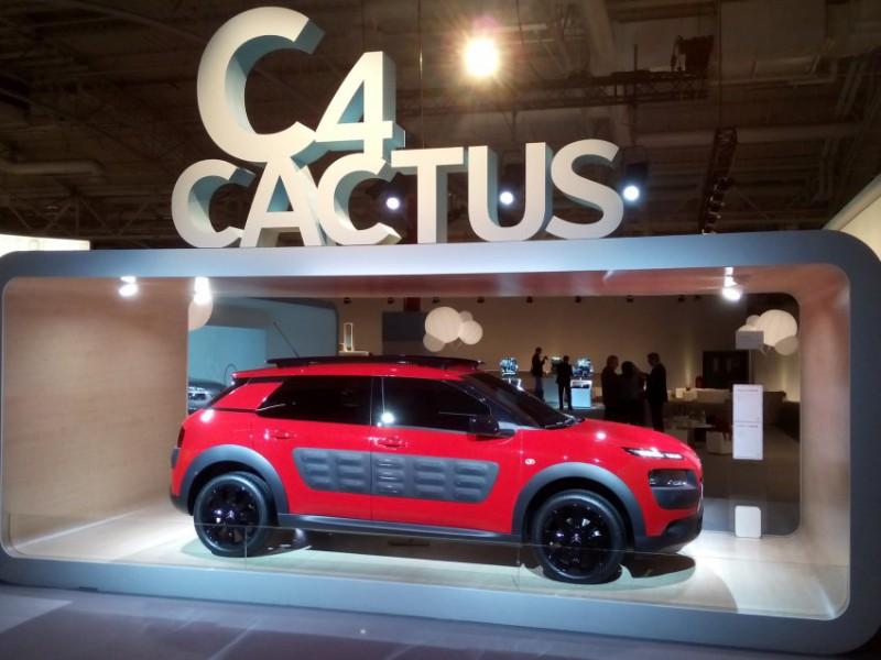 Citroën C4 Cactus: манифест перестройки бренда